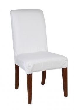White Parson Chair main image