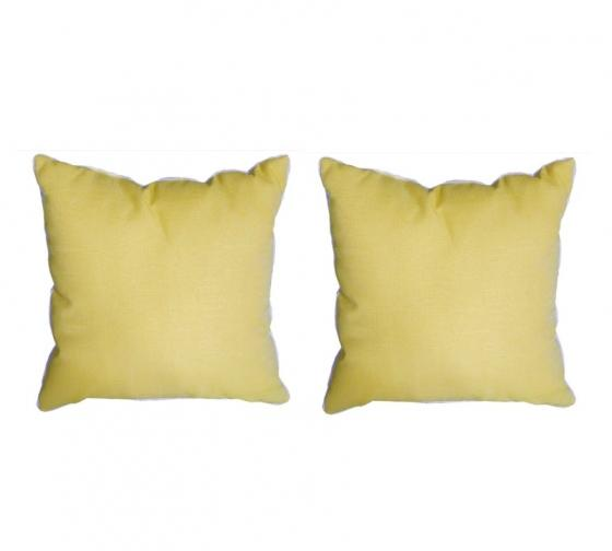 Solid Yellow Outdoor Pillows main image