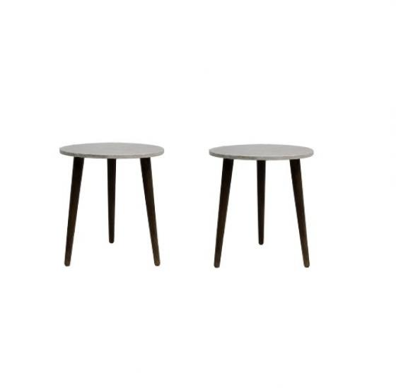 White Shell Side Tables main image