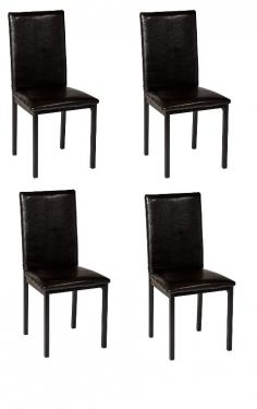 Black Dining Chairs - Set of 4 main image