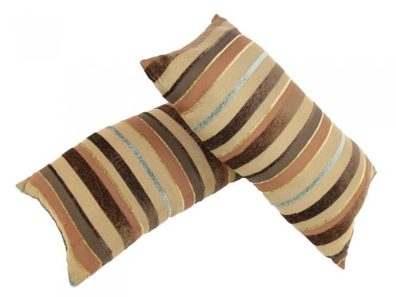 Brown and Tan Lumbar Pillows main image