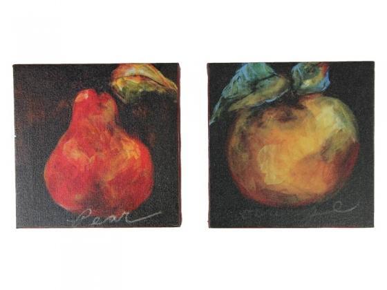 Pear And Peach Wall Art Canvas main image
