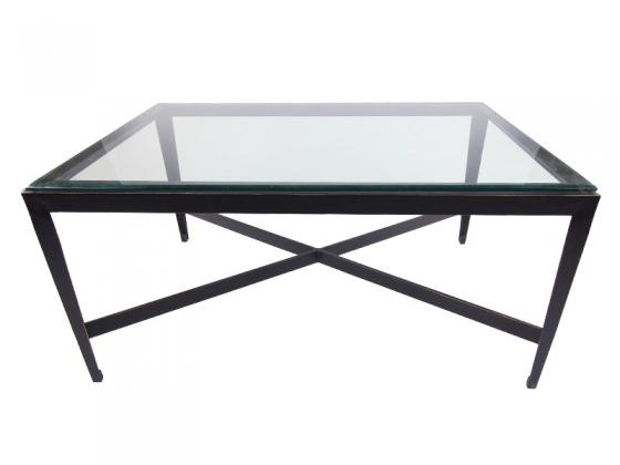 Glass Metal Coffee Table main image