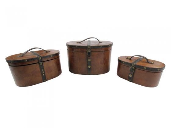 Leather Nesting Boxes main image