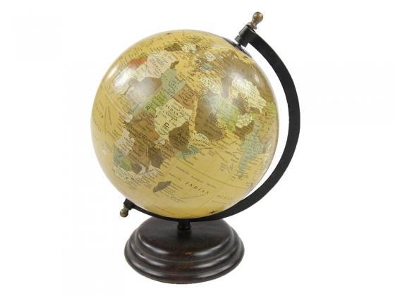 World Globe on Bronze Stand main image
