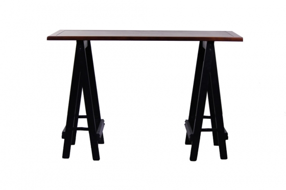 "46"" Wood Top Desk/Console Table main image"