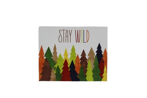 """18 * 24"""" """"Stay Wild"""" Colorful Painting main image"""