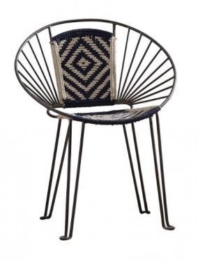 Gunmetal Accent Chair main image
