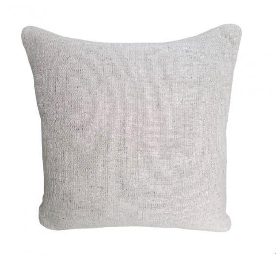 Cream and Speckled Pillow main image