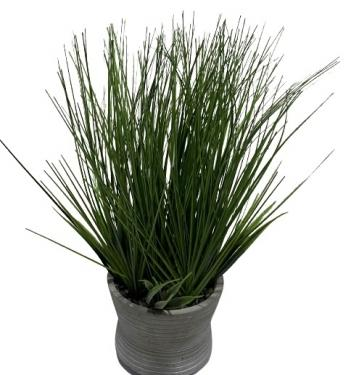 Tall Grass in Grey Vase main image