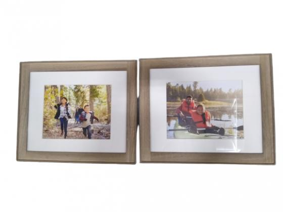 Framed Wood Family Picture main image