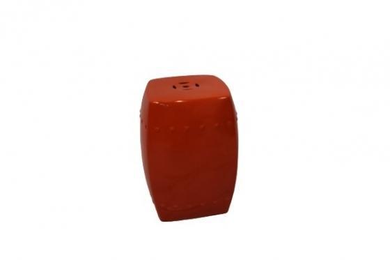 Orange Ceramic Side Table main image