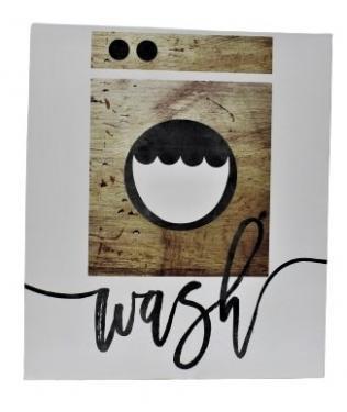 "White Canvas ""Wash"" Art main image"
