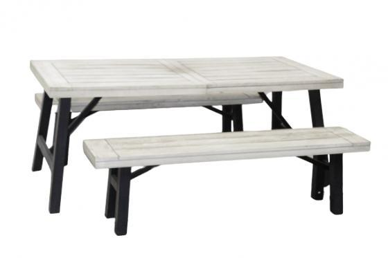 Outdoor Dinging Table & Bench Set  main image