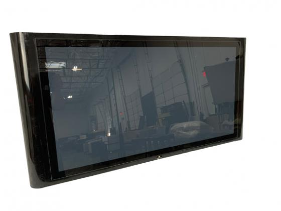 """48"""" Black Metal Prop TV - Curved Sides  main image"""