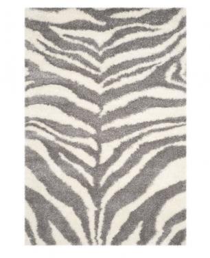 Shag Zebra Print Rug main image