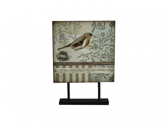 Bird Art on Fixed Stand main image