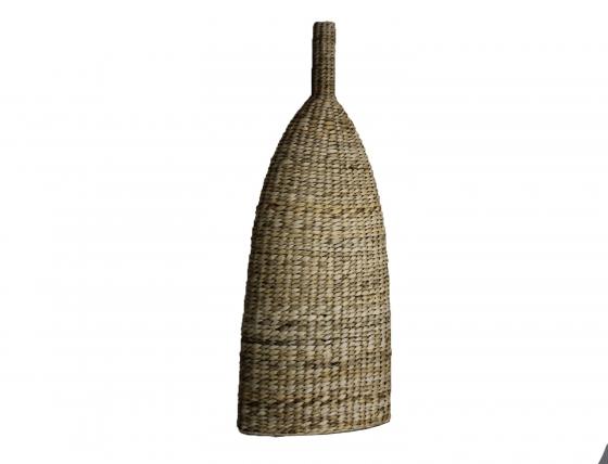 Tall Woven Rattan Vase main image