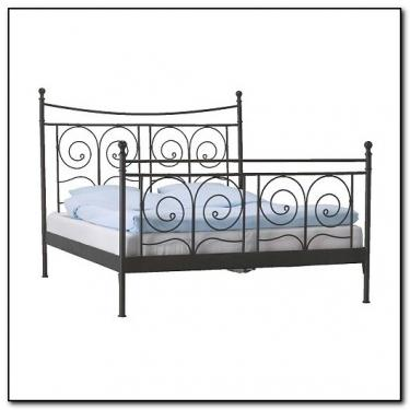 Queen Iron Bed main image