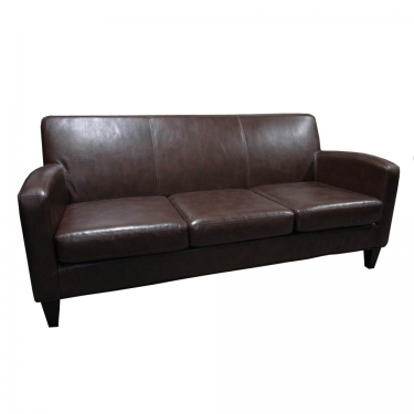 Brown Leather Sofa main image
