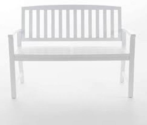 White  Bench main image