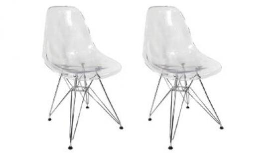 Acrylic Ghost Chairs main image