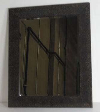 Pitted Upper Framed Mirror main image