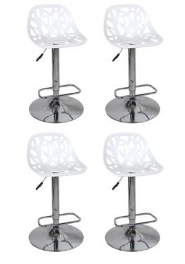 Cutout Acrylic Adjustable, Swivel Barstools main image