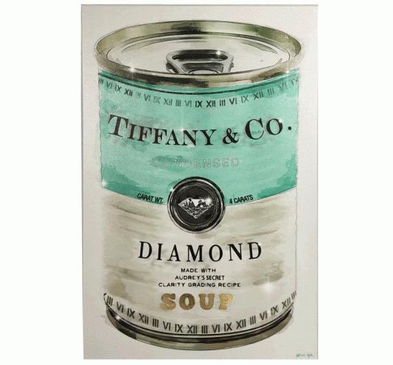 Tiffany & Co. Diamond Soup Can Canvas main image