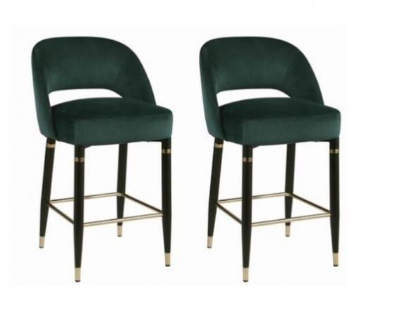Bali Green Counter Height Stools main image