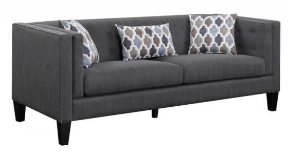 Dusty Blue Sofa  main image