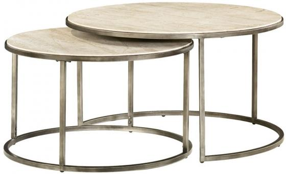 ROUND NESTING COCKTAIL TABLE SET main image
