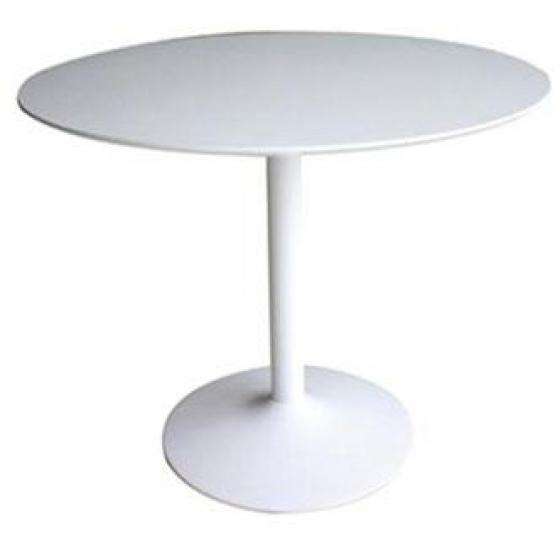 White Lowry Dining Table  main image