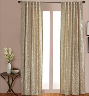 Linen Embroidery Curtains main image