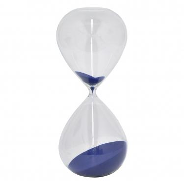 Glass Blue Sand Timer  main image