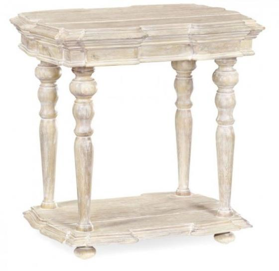 Limed Acacia Side Table main image