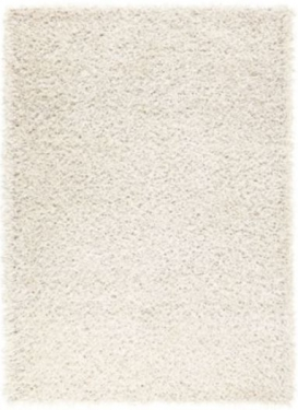White Sheen Shag Rug 5'x7' main image