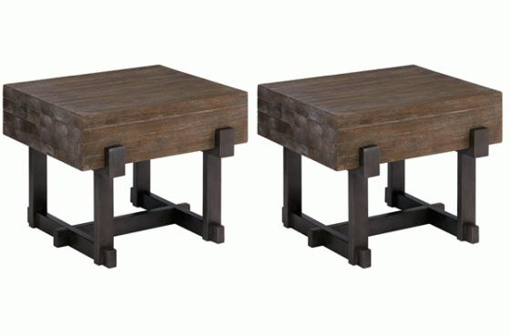 Timber End Tables main image