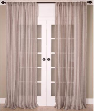 Linen Stripes Curtains main image