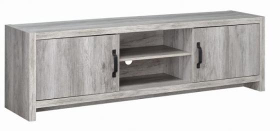 Grey Driftwood Tv Console main image