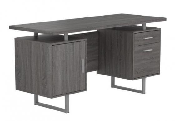 Weathered Grey Office Desk main image