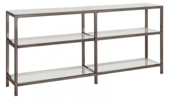Black Nickel Bookcase main image