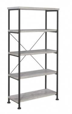 Grey Driftwood Bookcase main image