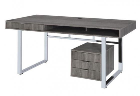 Weathered Grey Writing Desk main image