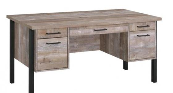 Weathered Oak Writing Desk main image