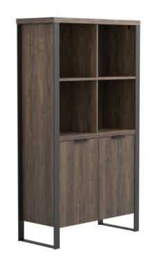 Aged Walnut Bookcase main image