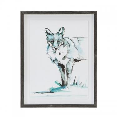 Ice Fox Frame Graphic main image