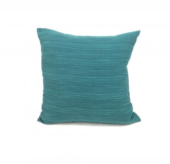 Blue Woven Pillow main image