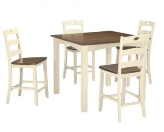 Woodanville Square Counter Table Set main image