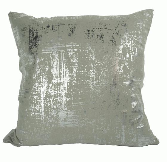 Grey shine Decorative Pillow main image